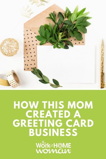 How This Mom Created a Greeting Card Business