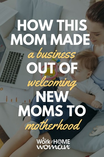 See how having a baby was the catalyst for Catherine Redfern to leave her stable 9-to-5 job and venture into the world of entrepreneurship by helping new moms into motherhood! #business #moms via @TheWorkatHomeWoman