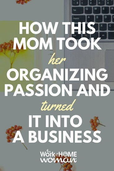 Find out how this mom took her organizing passion and turned into a profitable solution for purses with the company, Pouchee. #business  via @TheWorkatHomeWoman