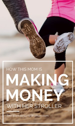 Find out how Lisa Druxman was able to combine her passion for fitness and motherhood into a home business that allows her to make money with her stroller. #business #workfromhome #fitness #mom #wahm via @TheWorkatHomeWoman
