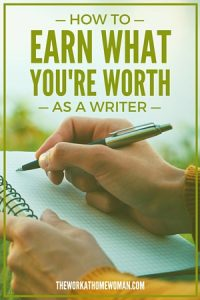 How to Earn What You're Worth as a Writer