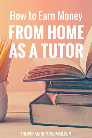 How to Earn Money From Home as a Tutor