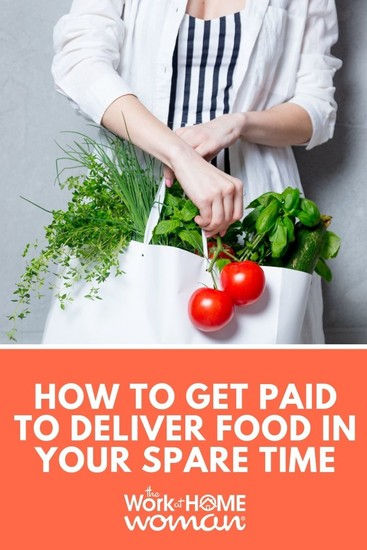 How to Get Paid to Deliver Food in your Spare Time