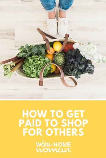 How to Get Paid to Shop For Others