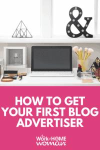 Cómo obtener su primer anunciante de blog