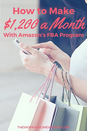 How to Make $1,200 a Month as a Amazon FBA seller