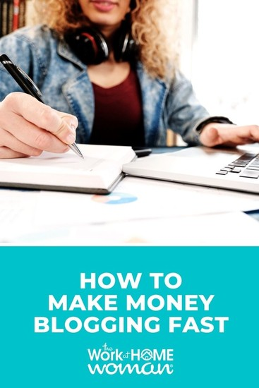 While there are no guarantees when you start a blogging business, there are some things you can do to help you make money fast. 