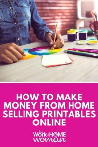 How to Make Money From Home Selling Printables Online