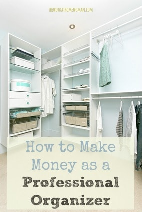 How to Make Money as a Professional Organizer