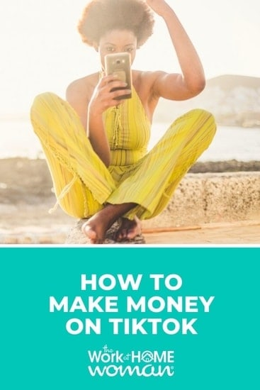 TikTok is one of the fastest-growing social media platforms that offers earning potential. Here are 10 ways you can make money on TikTok! via @TheWorkatHomeWoman