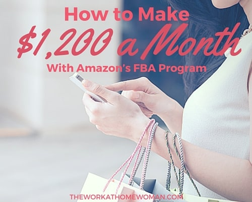 How to Make $1,200 a Month as an Amazon FBA Seller