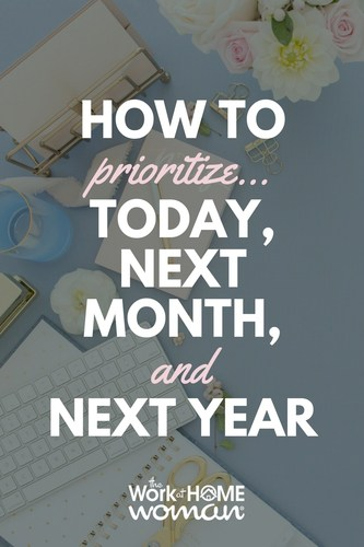 Knowing how to prioritize and when and where to spend your energy and time can make you your most productive self. Here a few tips on how to prioritize, when you feel like everything on your to-do list is a priority. #time #management #productivity #prioritize #work via @TheWorkatHomeWoman