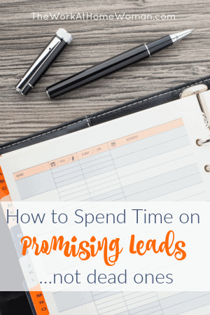 Businesses thrive on new leads. But, not every customer who contacts you is important. Here's how to spend time on promising leads, not dead ones. via @TheWorkatHomeWoman