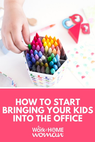 How to Start Bringing Your Child to Work