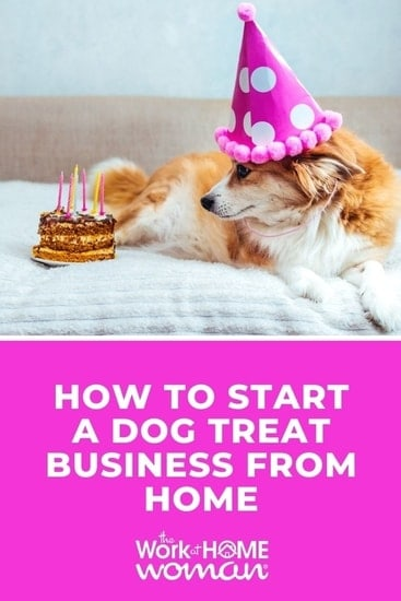 If the idea of owning a dog treat business interests you, check out this interview on how to turn your hobby into a profitable side hustle. #entrepreneur #pets via @TheWorkatHomeWoman