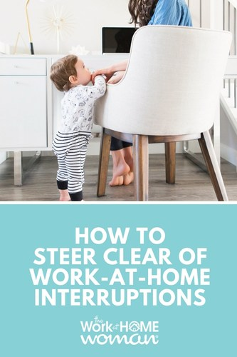 Life is unpredictable, especially when you work-from-home. Here are some ways you can establish productive work hours and avoid work-at-home interruptions. #workathome #workfromhome #freelance #productivity #time #distractions #wahm https://www.theworkathomewoman.com/interruptions/  via @TheWorkatHomeWoman