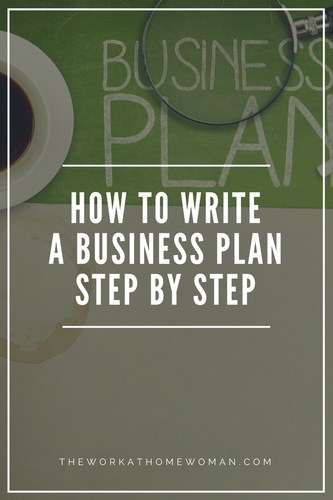 How to Write a Business Plan Step by Step