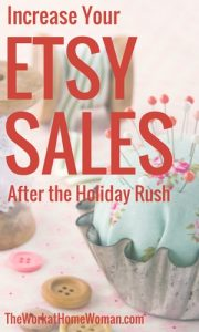 Increase Your Etsy Sales After the Holiday Rush
