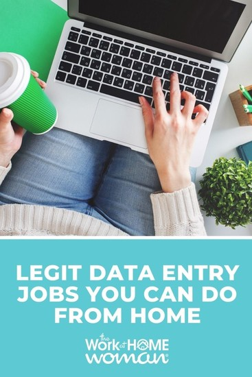 If you're looking for a flexible work-at-home job completing simple typing tasks, data entry may be the perfect position for you. via @TheWorkatHomeWoman