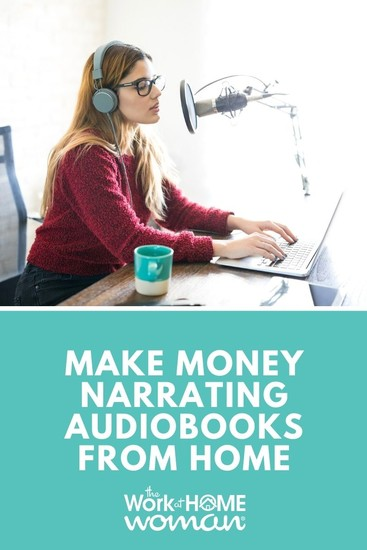 Does getting paid to narrate audiobooks sound like fun? Here's how one mom makes money doing voice-overs and narrating audiobooks from home. #audiobooks #workfromhome #business #freelance #voiceacting #voiceover #work #money via @TheWorkatHomeWoman