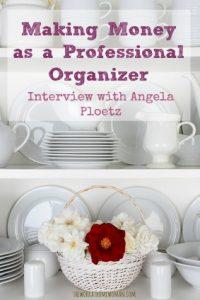 Making Money as a Professional Organizer