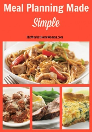 I'll admit it; I struggle with meal planning. So much so, that my family often eats cereal for dinner. If you have this daily struggle of what to make for dinner -- here's a simple solution from Tastefully Simple. #mealplanning #menuplanning #dinner #ad  via @TheWorkatHomeWoman