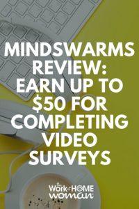 Mindswarms Review gagne jusqu'à 50 $ pour la réalisation de sondages vidéo