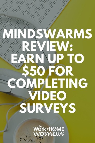 If you are looking for ways to make extra money, consider paid online surveys with Mindswarms, which pays $50 per survey.