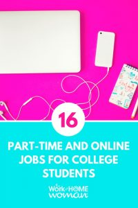 16 Part-Time and Online Jobs for College Students