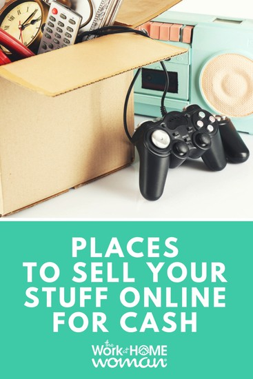 If you're looking to make some extra money, declutter your home, or simplify your life -- here are over 100 online platforms where you can sell your new and used stuff for money. #sell #money #online via @TheWorkatHomeWoman