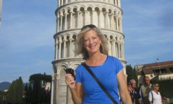 Melanie Sweet travels to Pisa Italy as a Cruise Planners travel franchise owner.
