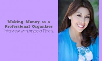 Making Money as a Professional Organizer - Interview with Angela Ploetz