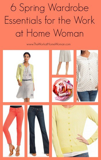 6 Spring Wardrobe Essentials for the Work at Home Woman