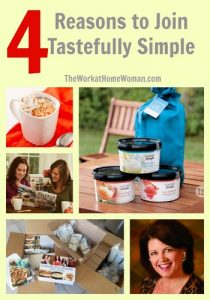 4 Reasons to Join Tastefully Simple