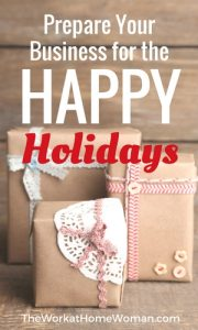 Prepare Your Business for the Happy Holidays