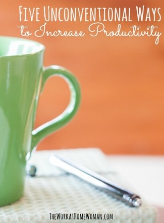 Five Unconventional Ways to Increase Productivity