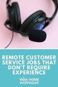 Emplois de service client à distance qui ne nécessitent pas d'expérience