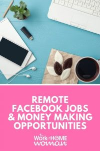Remote Facebook Jobs and Money Making Opportunities