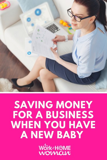 If you're a mom and want to save money for a business, I'm here to tell you that it is 100 percent possible. Here's how to make it happen. #business #money #save #baby via @TheWorkatHomeWoman