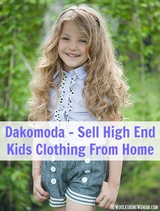 Dakomoda Sell High End Kids Clothing From Home