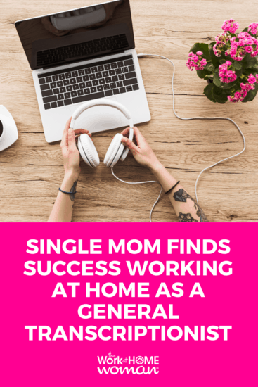 Are you looking for a fun and flexible work from home job? Learn about general transcription, what it is, how to get started, and more from Lisa Mills. #workfromhome #transcription #transcriptionist via @TheWorkatHomeWoman