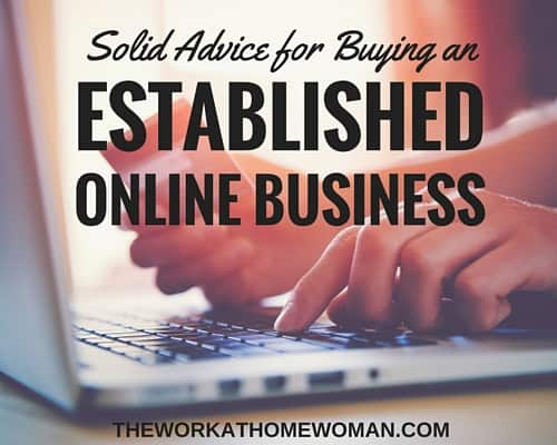 Solid Advice for Buying an Established Online Business