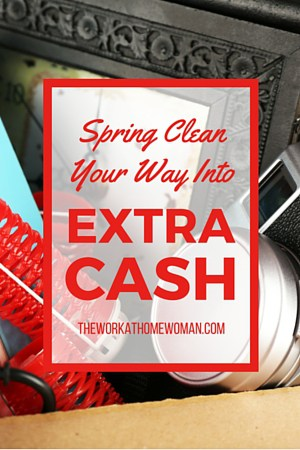 Spring Clean Your Way Into Extra Cash