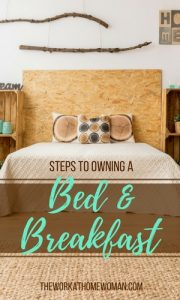 Steps to Owning a Bed and Breakfast Business