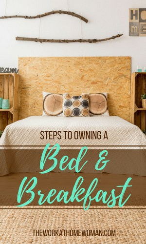 Ever thought about owning a bed and breakfast business? The industry is worth $3.4 billion. Here's how to cash in, if you want to start your own B&B business. via @TheWorkatHomeWoman
