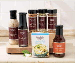 Win a Tastefully Simple Freezer Meal Kit