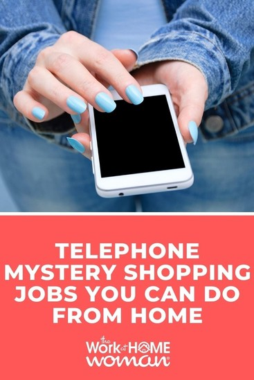 Read on to find out how telephone mystery shopping works, what it pays, and where to find jobs you can do from home. #legit #shopper #shop #money via @TheWorkatHomeWoman