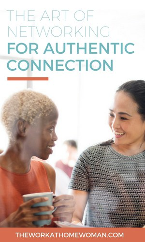 Networking is so much more than meeting, greeting, and collecting business cards! If you want true connections, here are some tips for networking for authentic connections.  via @TheWorkatHomeWoman