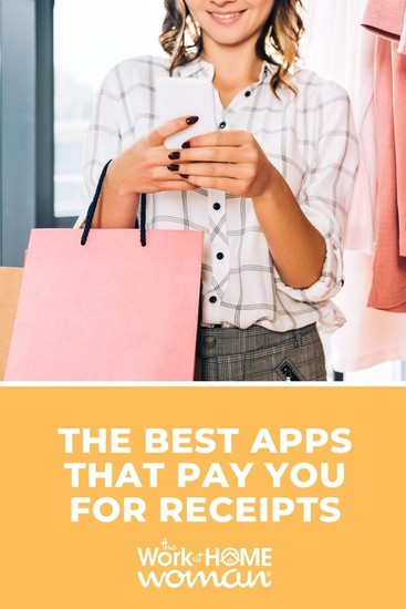 Did you know your shopping receipts can make you extra money? Learn how to earn cash or gift cards through apps that pay you for receipts! via @TheWorkatHomeWoman
