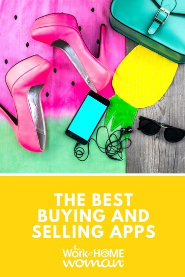 Whether you're looking to make space or money, here are 9 of the best buying and selling apps you can easily download and start using today. #extramoney #online #selling via @TheWorkatHomeWoman